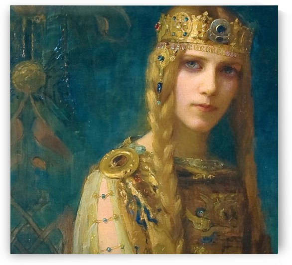 Joan Of Arc, French by Gaston Bussiere