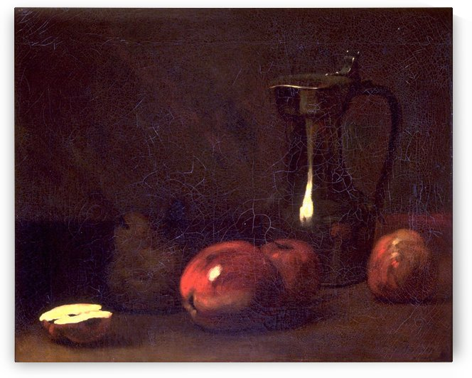 Still life with apples by Francois Bonvin