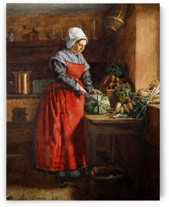 Victorian Servants by Francois Bonvin