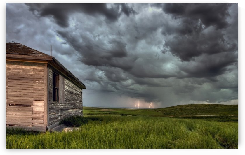 Storm  and LightningSaskatchewan by Mark Duffy