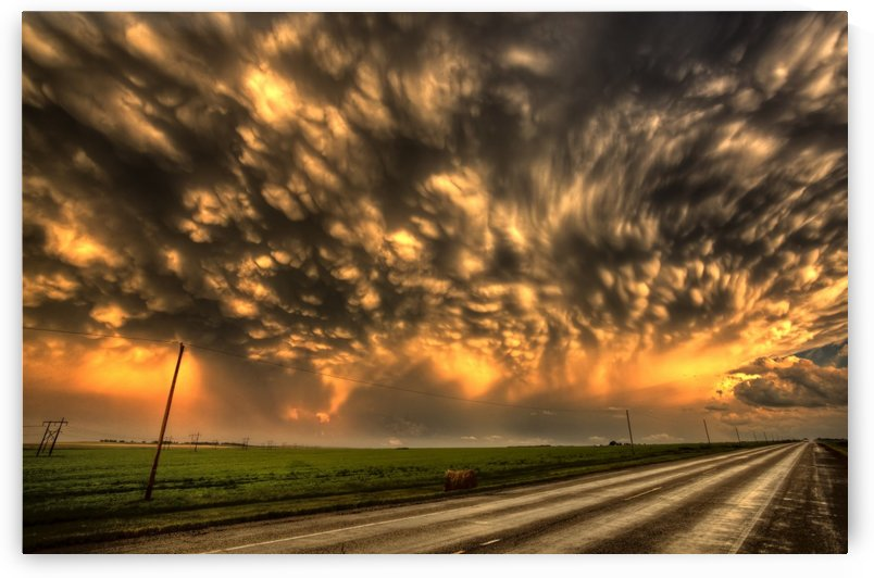 Storm Saskatchewan Canada Sunset by Mark Duffy