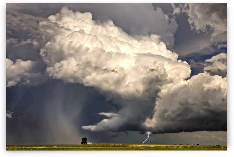 Storm Saskatchewan Canada by Mark Duffy