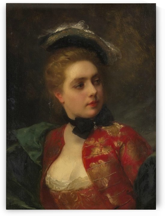Odette by Gustave Jean Jacquet