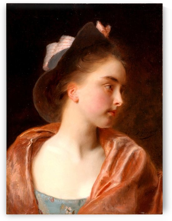 Maud by Gustave Jean Jacquet