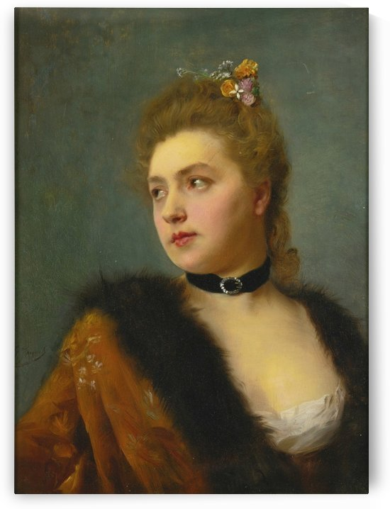 Parisienne by Gustave Jean Jacquet