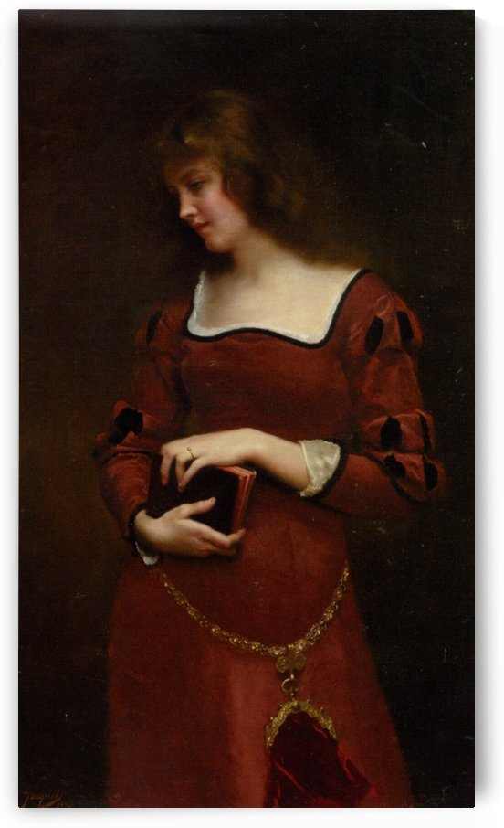 Wistful thoughts by Gustave Jean Jacquet