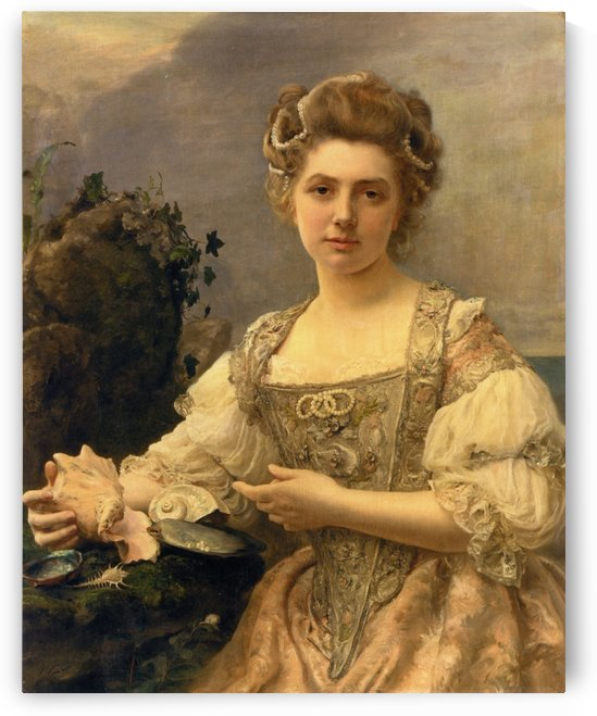 Treasures of the sea by Gustave Jean Jacquet