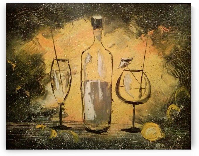 Черное на желтом  by Olha Darchuk