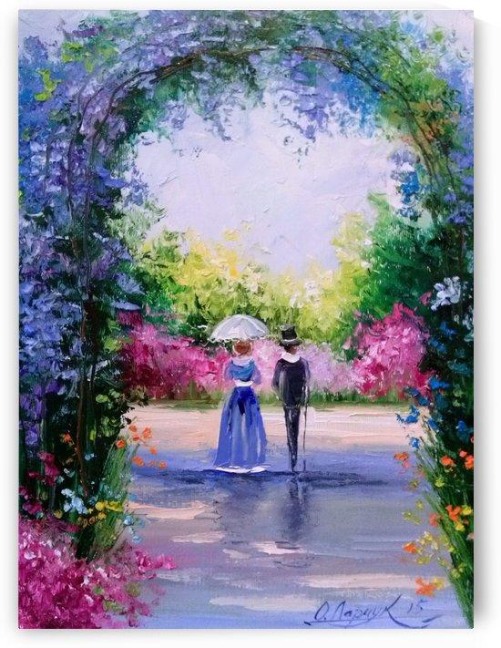 Прогулка в цветущем саду by Olha Darchuk