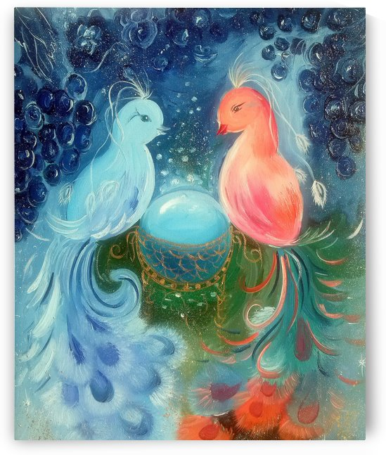 Птицы счастья by Olha Darchuk