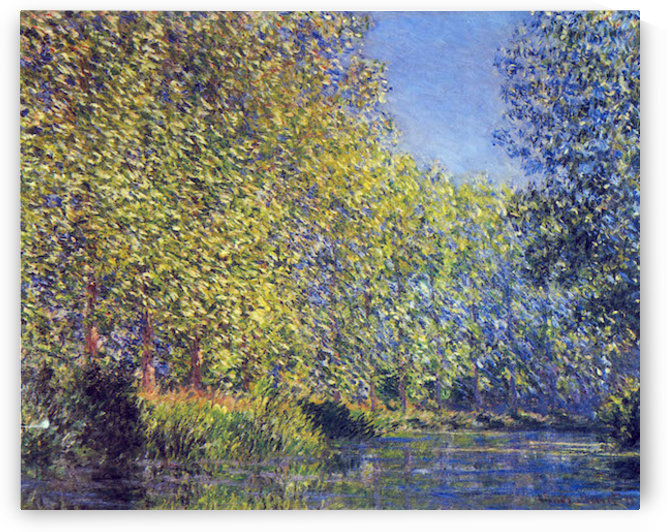 A Bend in the Epte Giverny by Monet by Monet