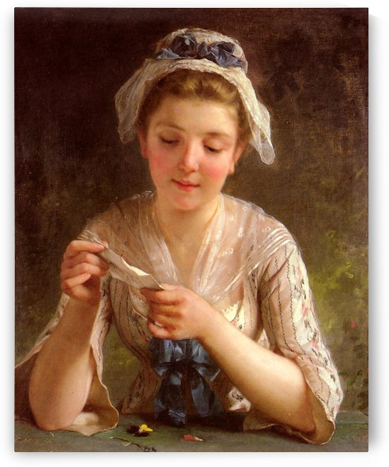 La lettre by Emile Munier