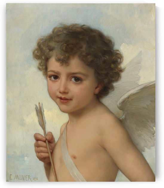 A child angel by Emile Munier