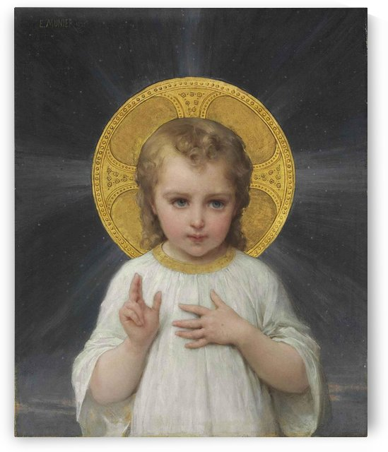 Jesus as a child by Emile Munier
