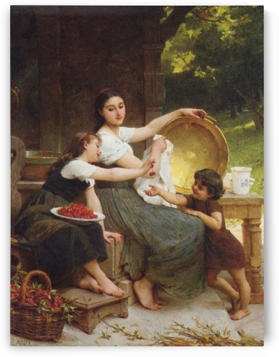 Making marmelade by Emile Munier