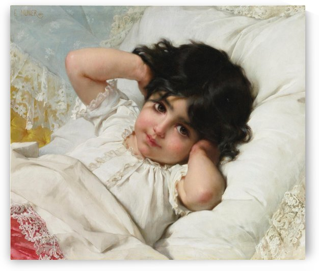 Portrait of Marie Louise by Emile Munier
