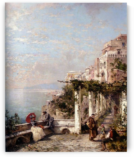 Die Amalfi Kuste by Franz Richard Unterberger