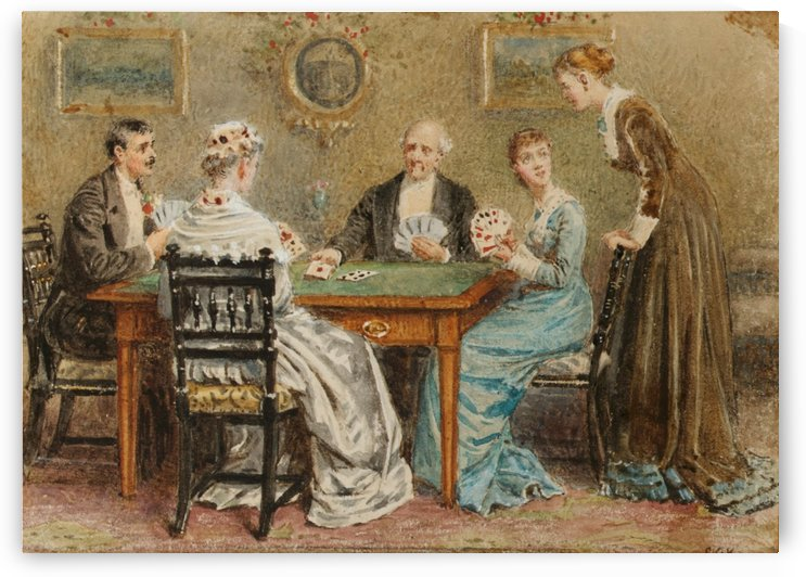 A good hand by George Goodwin Kilburne