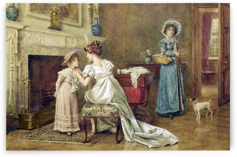 Parents and children by George Goodwin Kilburne