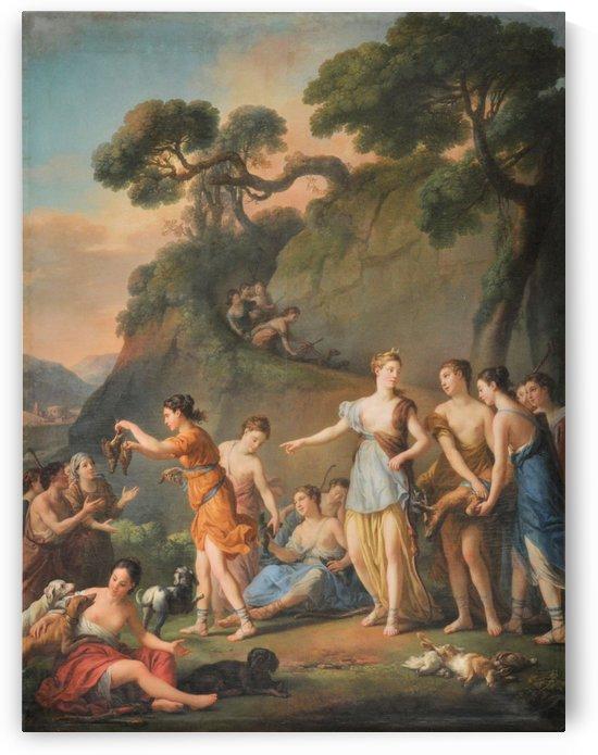 La Chasse, 1772 by Joseph-Marie Vien