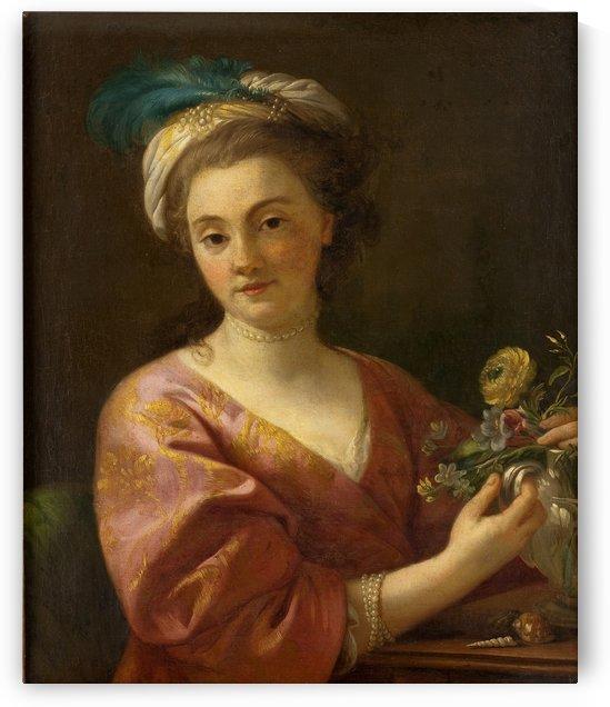 Portrait of Madame Vien by Joseph-Marie Vien