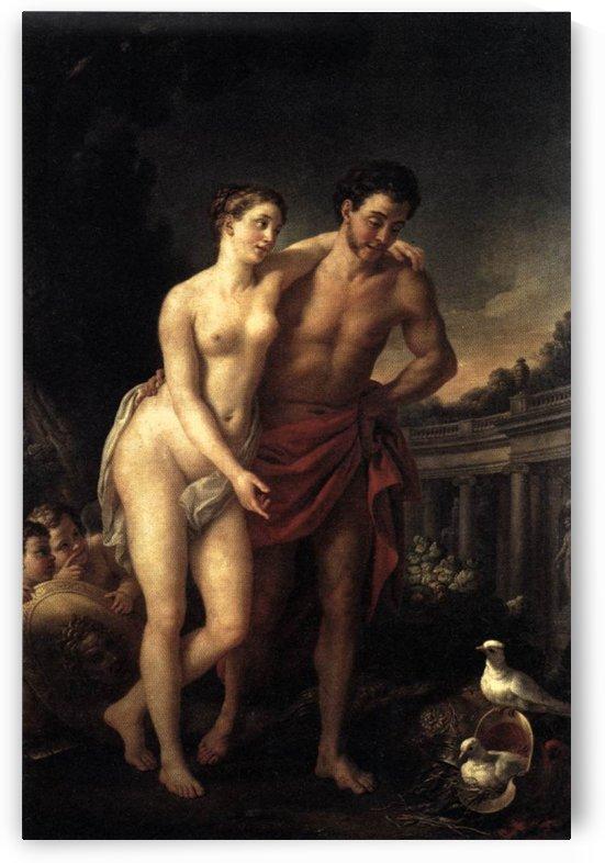 La Marchande d'Amours by Joseph-Marie Vien