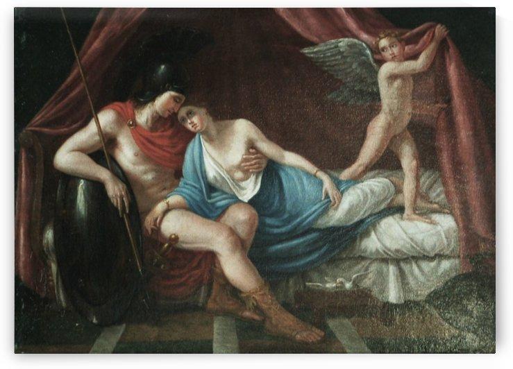 Mars, Venus And Cupid by Joseph-Marie Vien