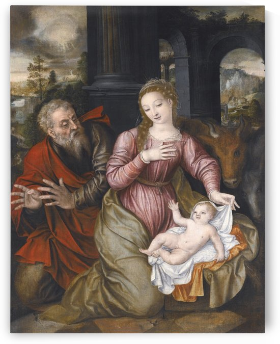 Madonna and child by Jan Massys
