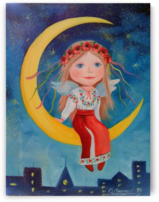 Ангелочек добра  by Olha Darchuk