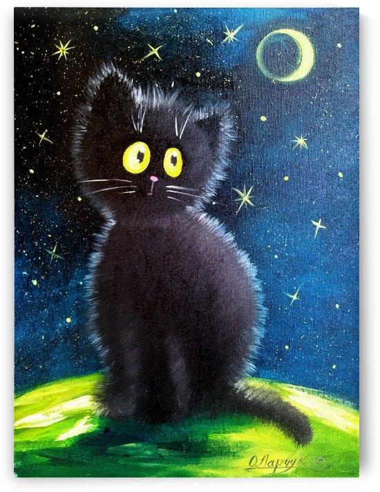 Черный кот by Olha Darchuk