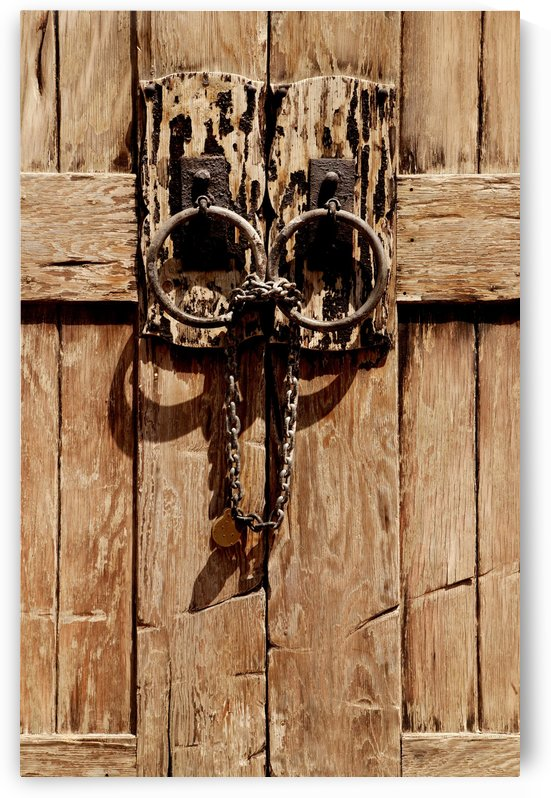 Wooden Doorway by PacificStock