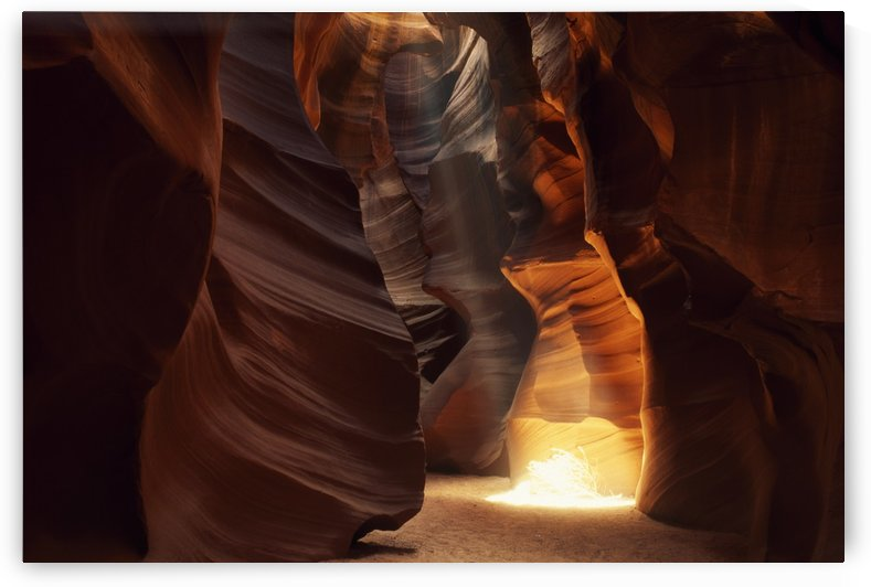 Sunbeam In Antelope Canyon by PacificStock