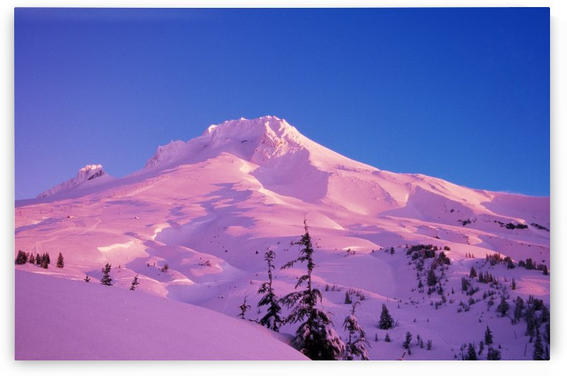 Sunrise On Mt. Hood, Oregon, Usa by PacificStock