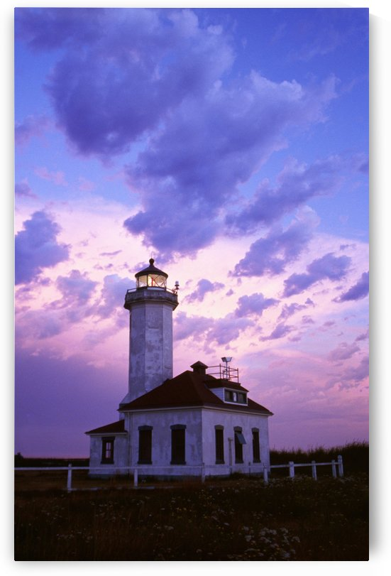 Point Wilson Lighthouse by PacificStock