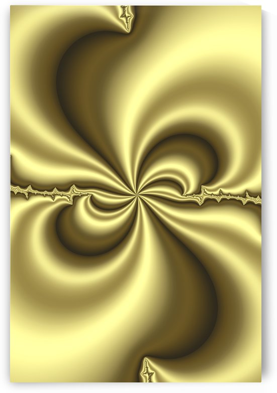 Gold Abstract by PacificStock