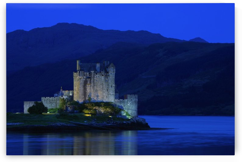Castle In Scotland by PacificStock
