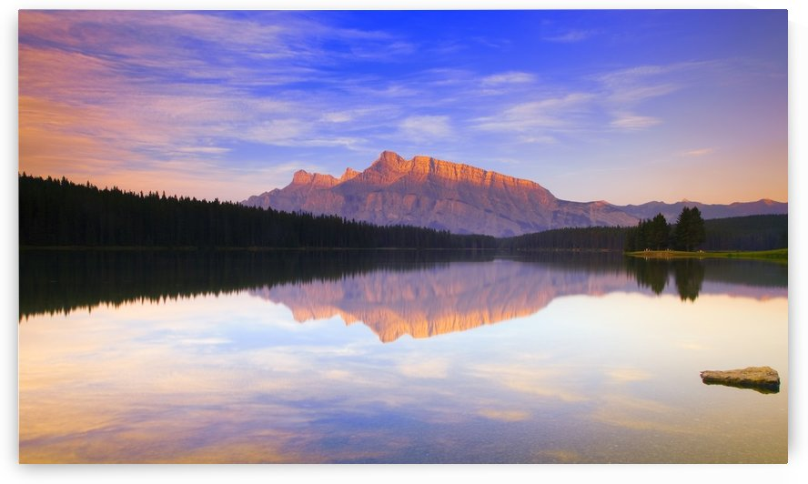 Mount Rundle, Alberta, Canada by PacificStock