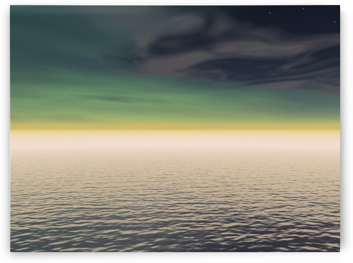 Expanse Of Water And Sky by PacificStock