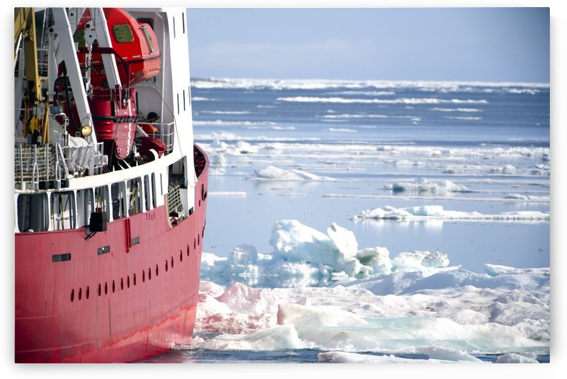 Icebreaker Ship by PacificStock