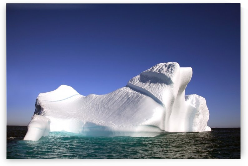 Iceberg In The Canadian Arctic by PacificStock