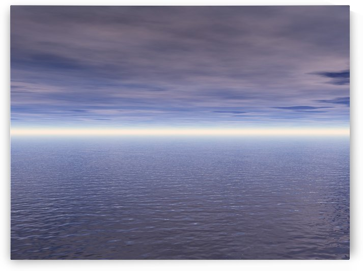 Ocean And Clouds by PacificStock