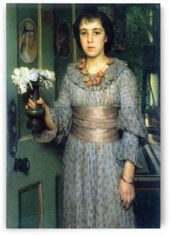 Portrait of Anna Alma-Tadema by Alma-Tadema by Alma-Tadema