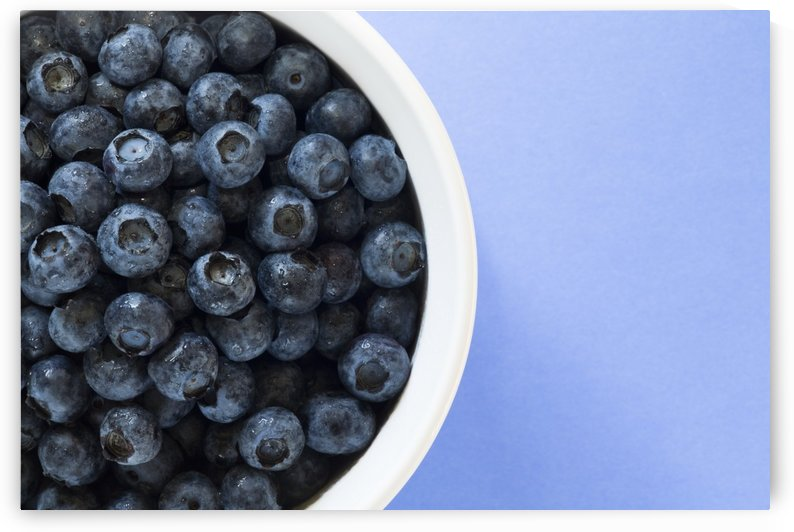 Bowl Of Blueberries by PacificStock