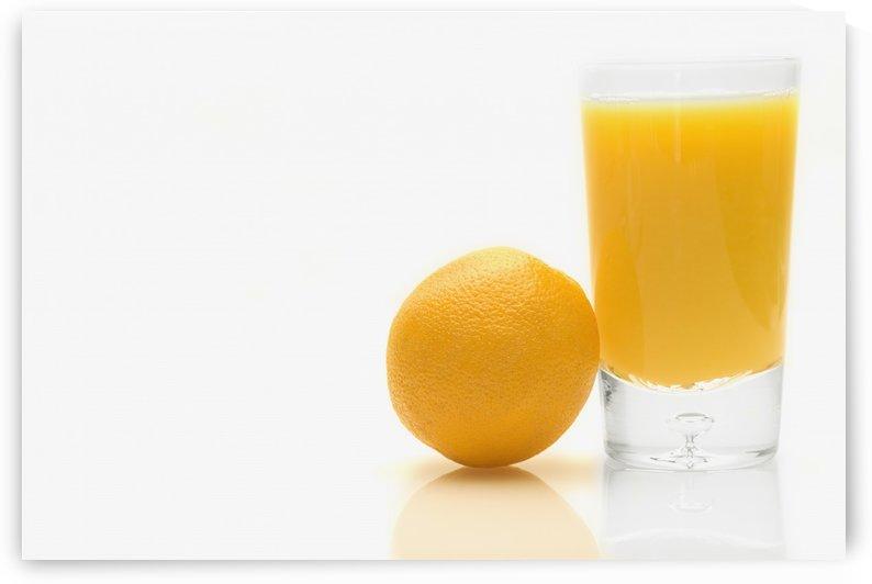 Orange And Orange Juice by PacificStock