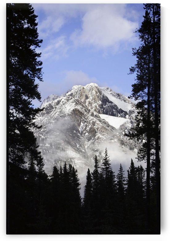 Cascade Mountains In Banff by PacificStock