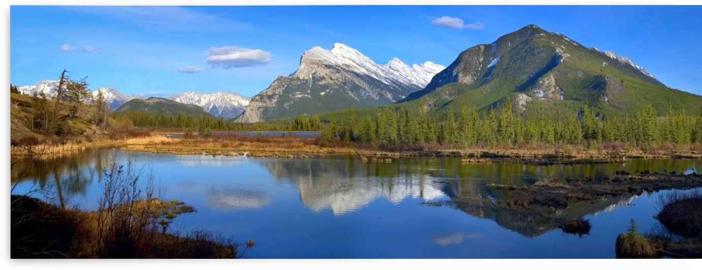 Mount Rundle In Banff National Park, Alberta, Canada by PacificStock