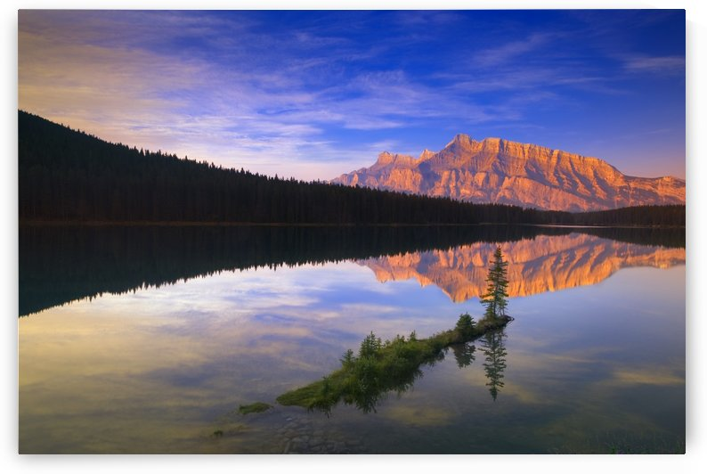 Two Jack Lake In Banff, Alberta, Canada by PacificStock