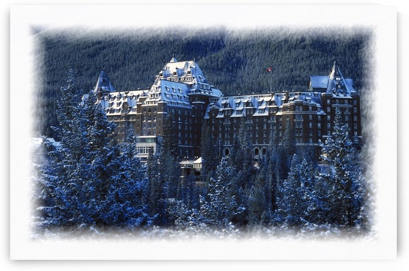 Banff Springs Hotel In Banff, Canada by PacificStock