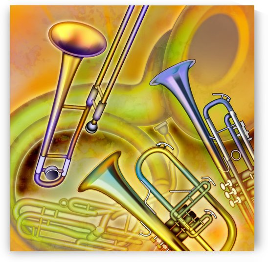 Brass Instruments by PacificStock