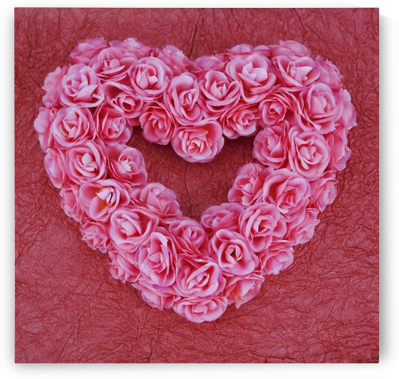 Heart-Shaped Floral Arrangement by PacificStock